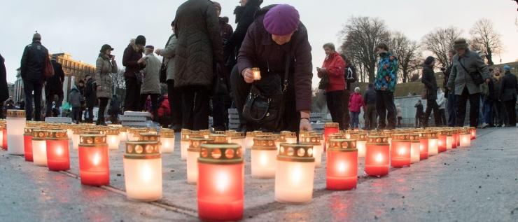 FOTOD ja VIDEO! Taavi Aas: märtsiküüditamist on püütud unustada, aga seda ei saa unustada