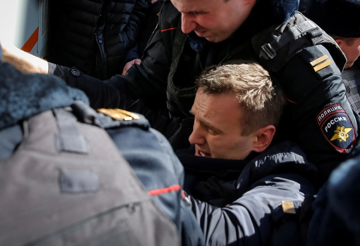 Moskva meeleavaldusel võeti kinni üle 700 inimese