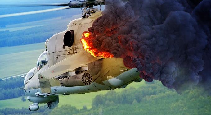 Ukrainas kukkus alla sõjaväekopter, meeskond hukkus