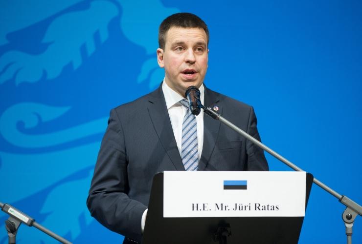 Jüri Ratas osaleb Euroopa Liidu teemalisel avalikul arutelul