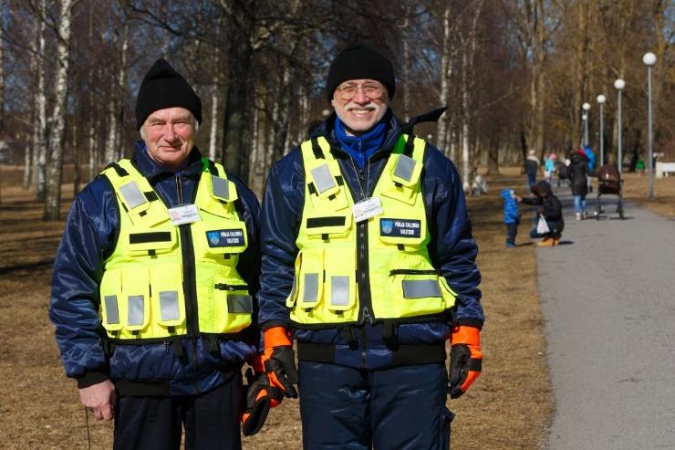 Põhja-Tallinnas alustasid taas tööd pargivahid