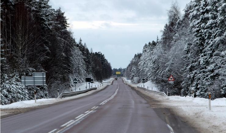Reede toob kohati talvised teeolud