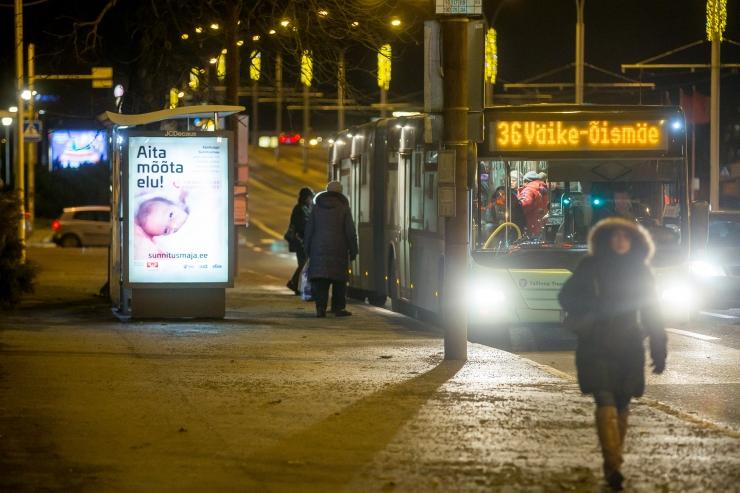 Bussid said uued peatused Päevalilles ja Linnamäe teel