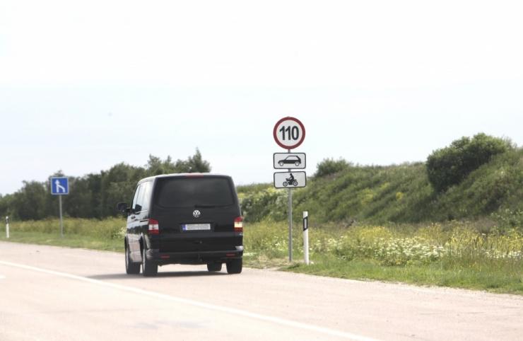 Maanteeamet alustab neljarealistel teedel piirkiiruste tõstmisega