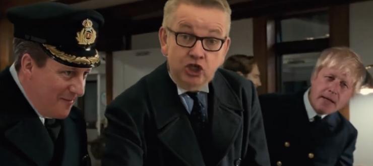"""NALJA NABANI: Mis juhtub, kui Brexit ja """"Titanic"""" kokku panna?"""