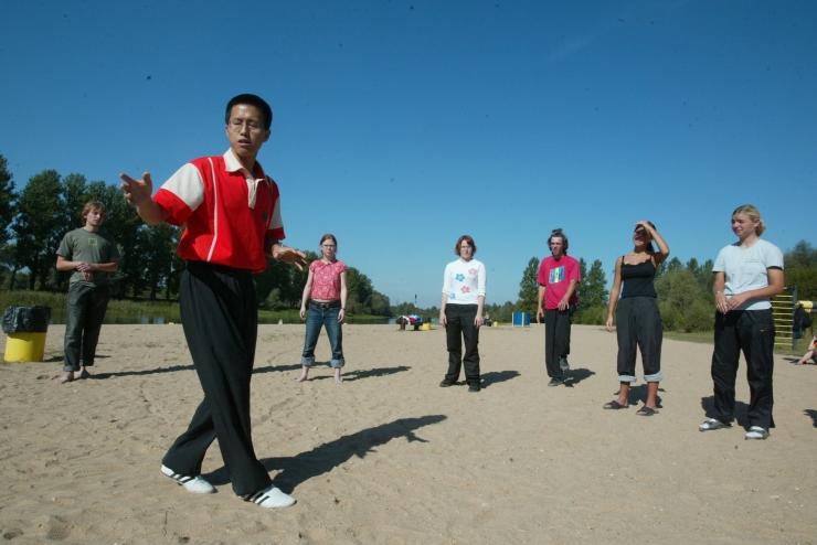 Lasnamäel toimuvad tasuta Tai-Chi treeningud