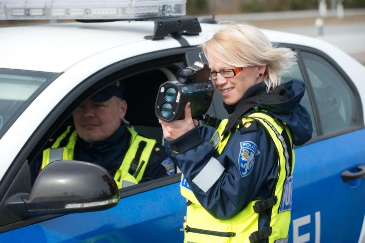 Selle aastal on politsei liiklustalgute fookuses kiiruseületajad