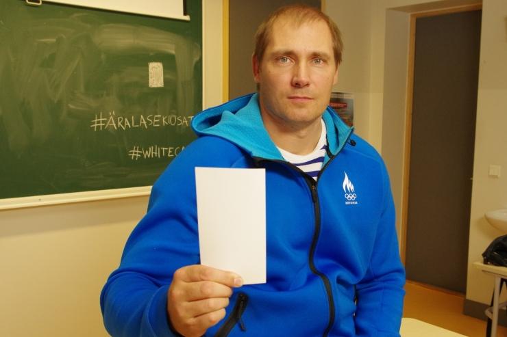VIDEOD!Eesti sportlased astuvad valge kaardiga koolikiusamise vastu