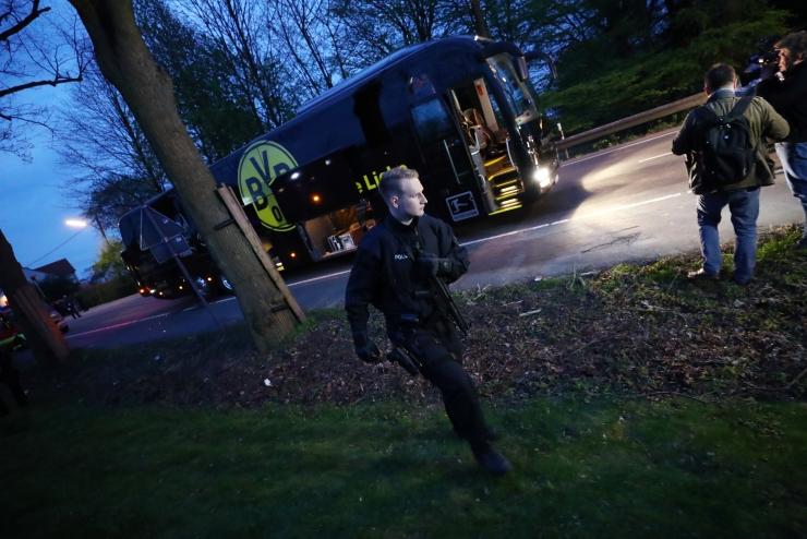 Saksa politsei hinnangul oli rünnaku sihtmärgiks just jalgpalliklubi