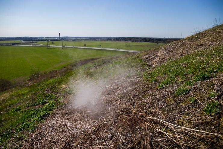 Keskkonnaministeerium teeb Kukruse aheraine mäele uue õhu-uuringu