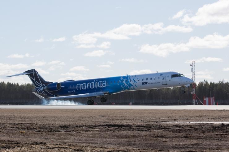 LHV laenab 25 miljonit Nordicale kahe lennuki ostmiseks