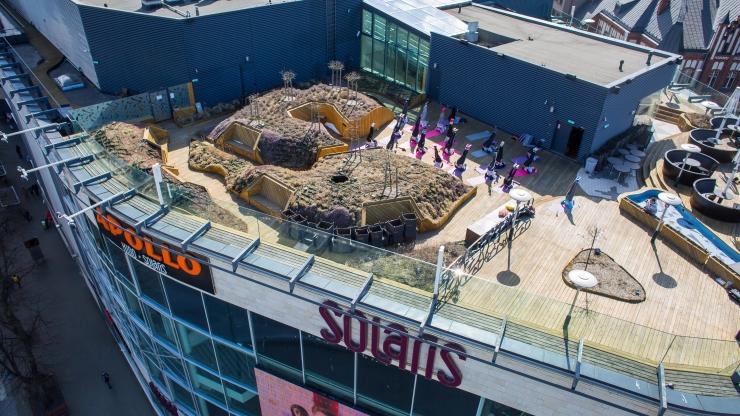 ÜLIÄGE GALERII! Tallinna tudengid tegid kõrgustes katusejoogat!