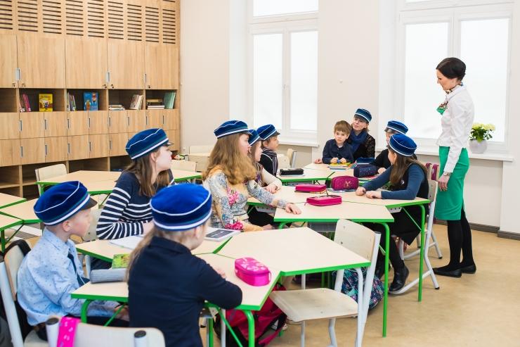 FOTOD! GAG-i uues õppehoones valmis näidisklass