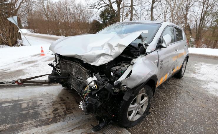 Kuues liiklusõnnetuses sai viga kaheksa inimest