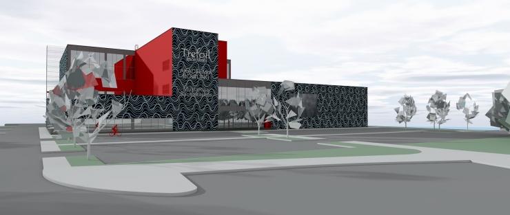 Mustamäel alustati ujula ehitusega