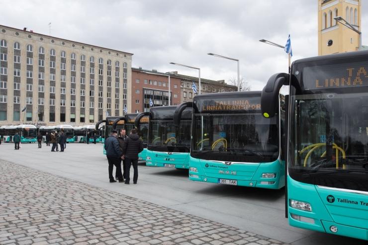 Bussiliini nr 52 ajutine ümbersuunamine