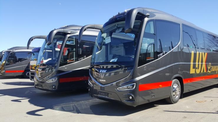 FOTOD! Eestisse jõudsid Baltikumi kaasaegseimad bussid