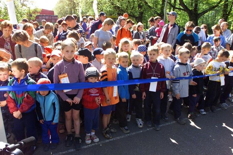 Päikeseline kevadilm meelitas jooksma ligi 4000 last