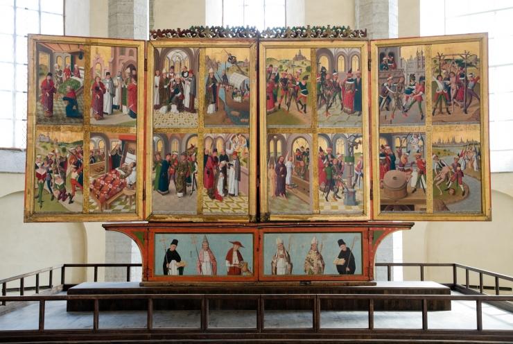 VIDEO! TARMO SAARET: Püha Nikolaus on kõikide meremeeste ja kaupmeeste kaitsepühak, seetõttu on ta andnud nime ka selle kirikule