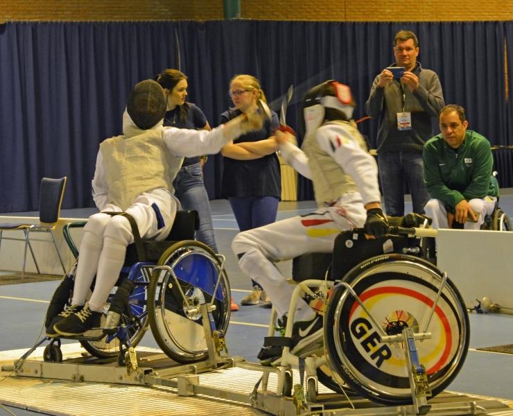 Noor ratastoolivehkleja võitis esmakordselt maailmakarika etapi pronksmedali
