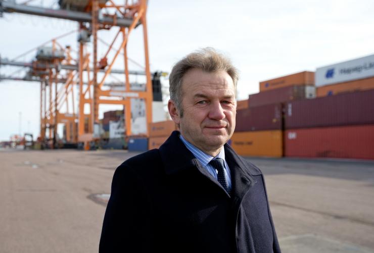 AS Eesti Raudtee valis peadirektoriks Erik Laidvee