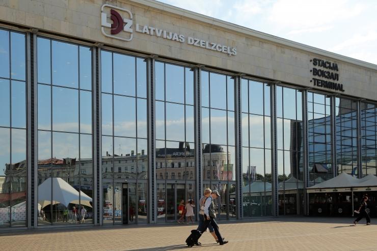 Läti Raudtee kasum kasvas kvartalis aastaga 96 protsenti