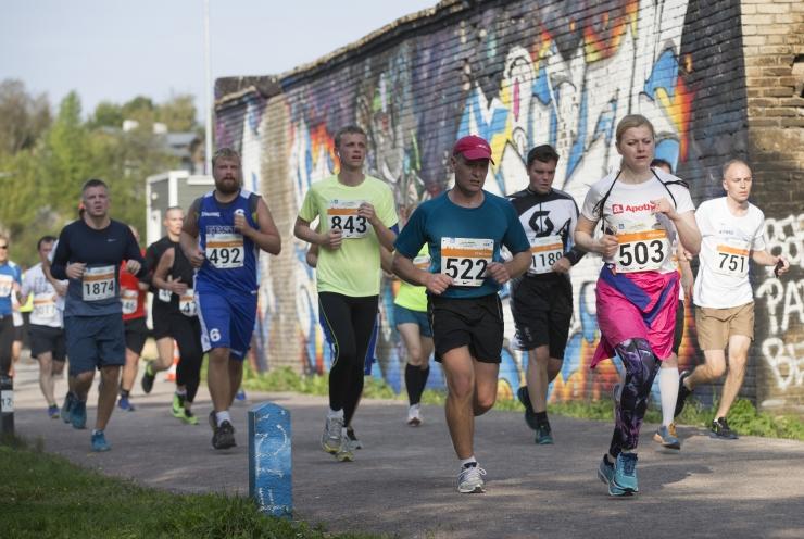 Tallinna Maraton pakub tänavu uut võistlustrassi