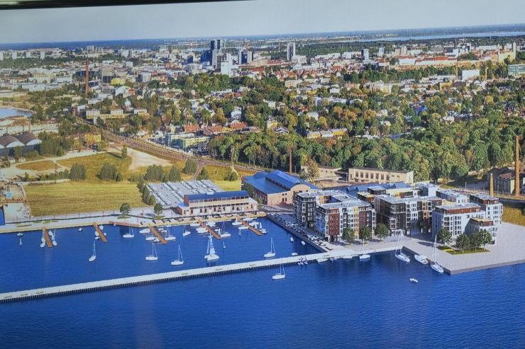 FOTOD JA VIDEO! Noblessneri sadam saab uue linnaväljaku ja promenaadi