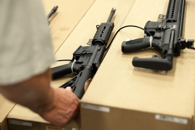 Ühendriikides kolm inimest tapnud mehe kodust leiti hulk relvi