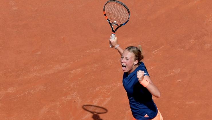 VÄGEV! Eesti tennisestaar Anett Kontaveit võitis taas