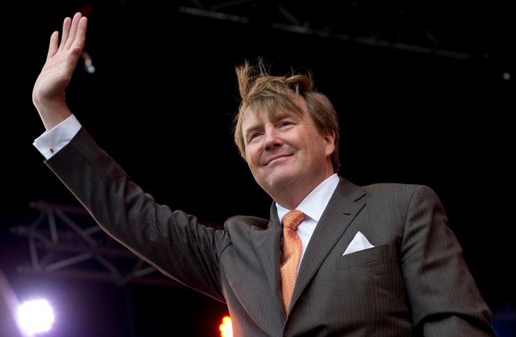 Hollandi kuningas paljastas oma hobi reislennuki piloodina