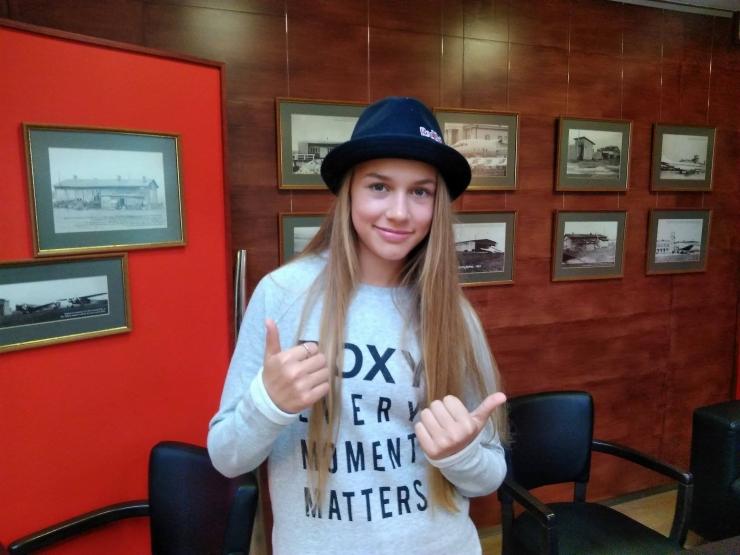 Kelly Sildaru kandideerib Euroopa olümpiakomiteede parima talialade noorsportlase auhinnale