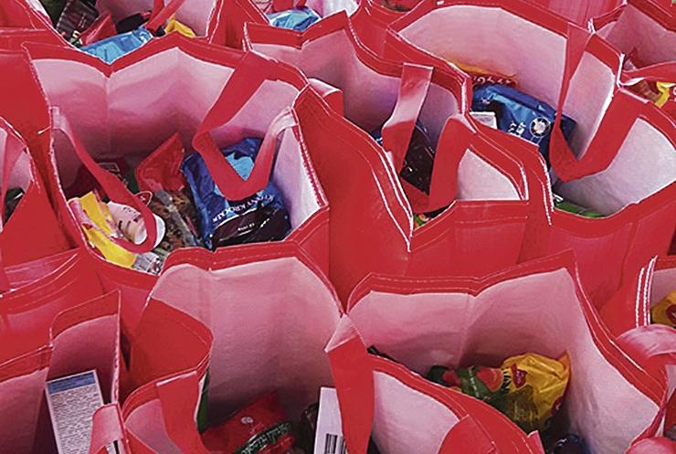 Tallinna puudustkannatavad lapsed said 200 toidupakki