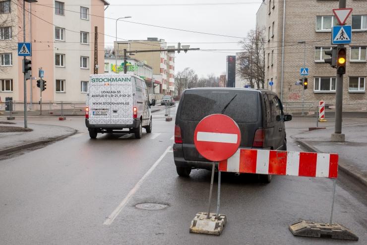 Reede õhtul ajutiselt suletakse Valukoja ja Lõõtsa tänava liiklus