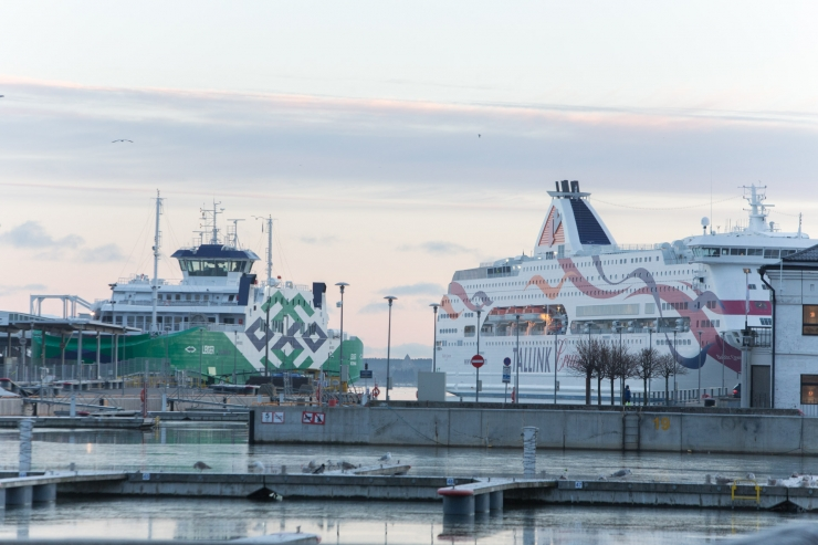 Balti sadamate kaubakäive kasvas jaanuaris-aprillis 5,8 protsenti