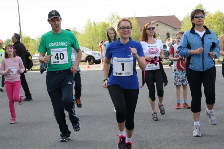 Lasnamäe Pae Pargi Rahvajooksust võttis osa 300 sportlast