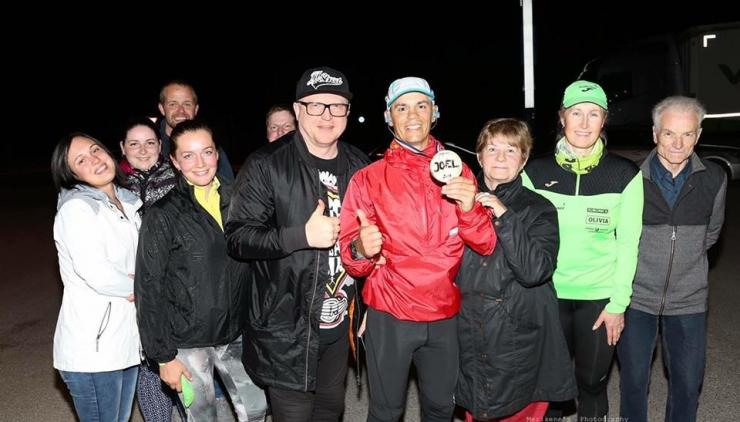 Joel Juhi jooks Tallinnast Jõgevale lisas tervisepargi rahastusse ligi 1000 eurot
