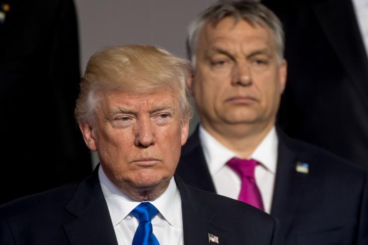 Trump: USA ei hülga kunagi oma sõpru