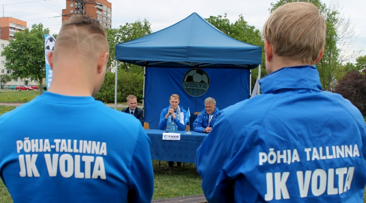Raimond Kaljulaiust sai Põhja-Tallinna JK Volta president