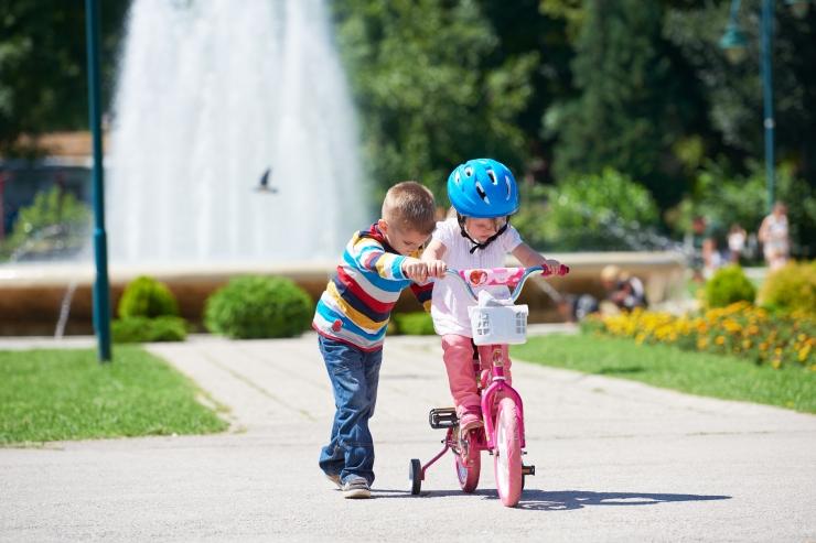 Lapsed satuvad üha enam jalgrattaõnnetustesse