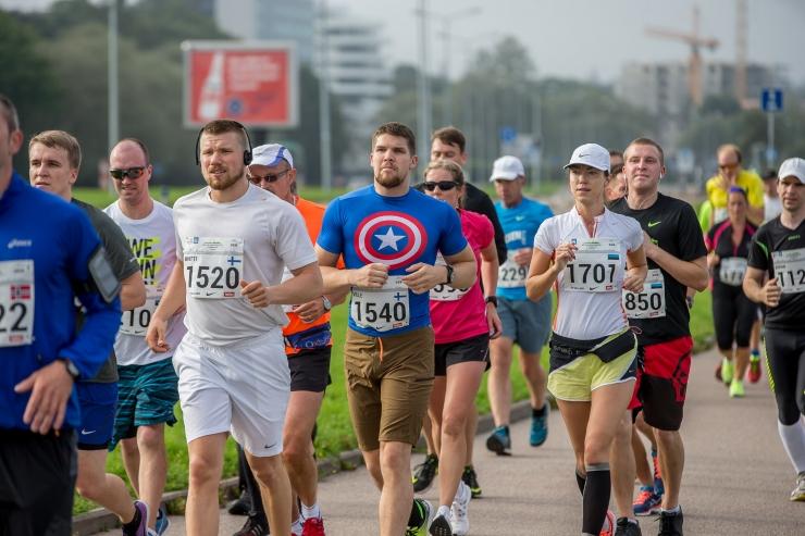 Heategevuslikul juunijooksul startis ligi kaks tuhat spordisõpra
