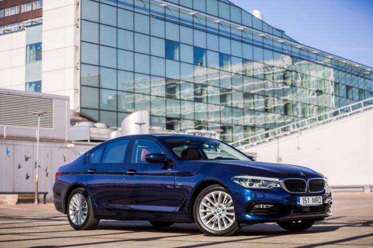 Liikluskindlustuse fond: kõige sagadamini juhtub õnnetusi BMW-dega