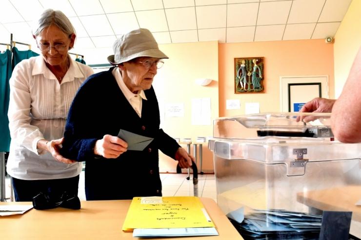 Valimisosalus Prantsuse valimistel on madalam kui viis aastat tagasi