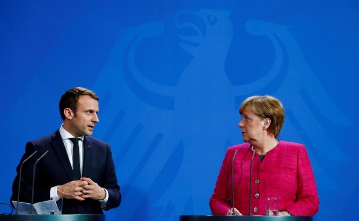 Peaminister Ratas kohtub Merkeli ja Macroniga