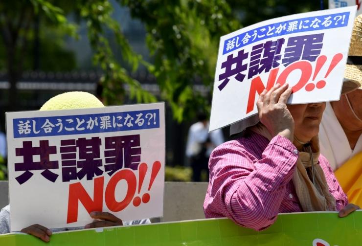 Jaapan jõustas vastuolulise terroritõrjeseaduse