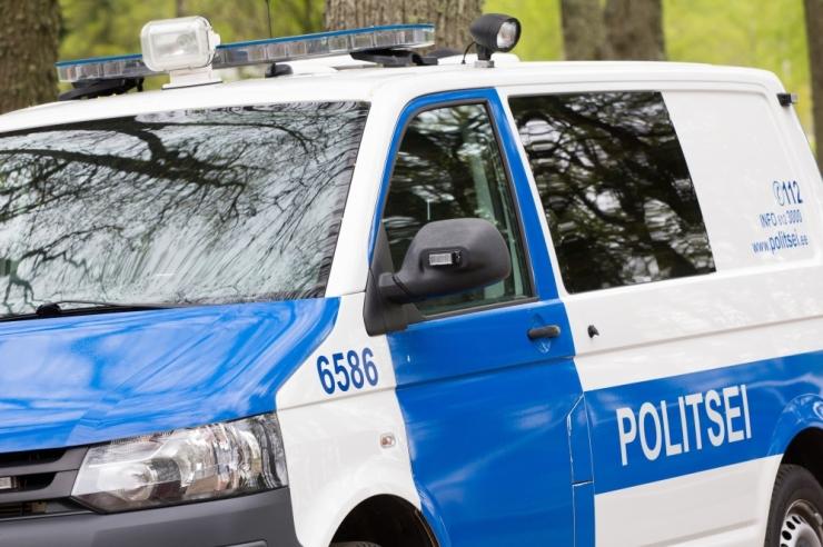 Balti politsei eriüksused harjutavad Kloogal kurjategijate kinnipidamist