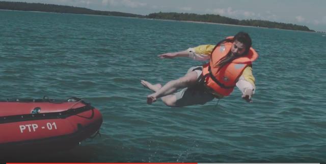 VIDEO! Päästevesti kandmine veesõidukis päästab elusid