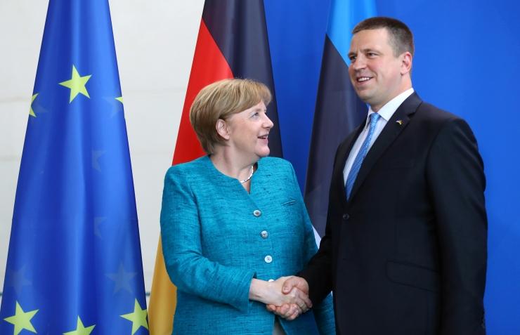 Ratas rõhutas kohtumisel Merkeliga turvalise ja eduka Euroopa tähtsust