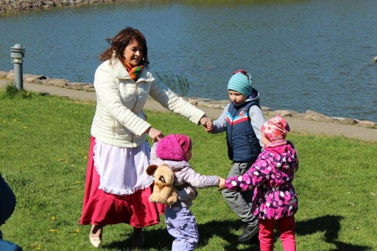 Haabersti suvised lastehommikud kutsuvad Õismäe tiigi äärde