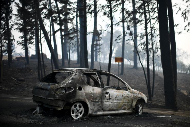 Portugali maastikupõlengutes on hukkunud vähemalt 43 inimest